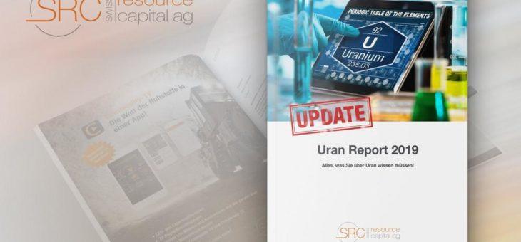 Uran Report 2019 – Update: Neue und relevante Informationen zum Download