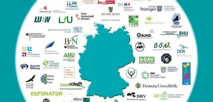Naturschutzarbeit in Deutschland – Schwerpunkte im Jahr 2018