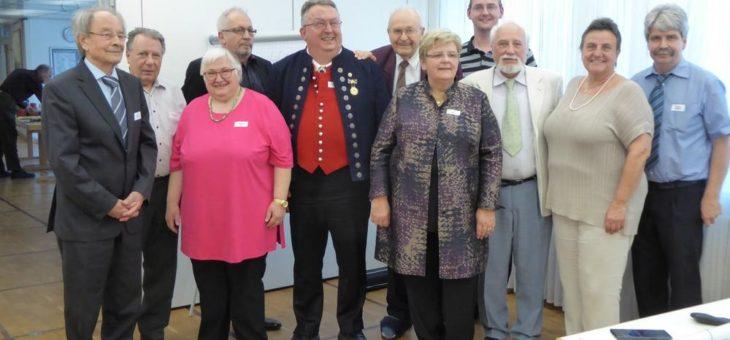 Der neue Vorstand beim BdV-Landesverband Baden-Württemberg wurde gewählt