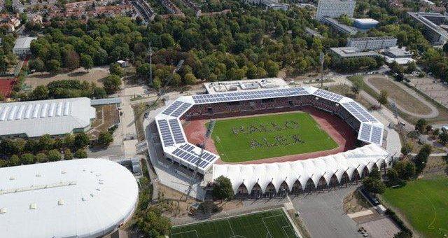 Keyweb unterstützt DLR_Raumfahrt_Show im Erfurter Steigerwaldstadion