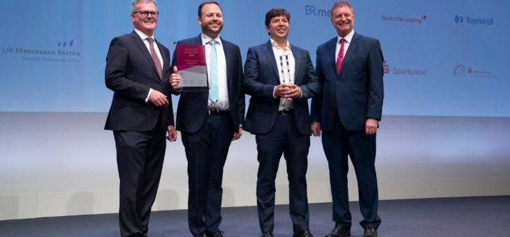 Auszeichnung für innovatives und erfolgreiches Unternehmertum