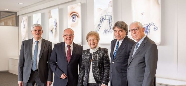 50-jähriges Gründungsjubiläum der Richard und Annemarie Wolf-Stiftung