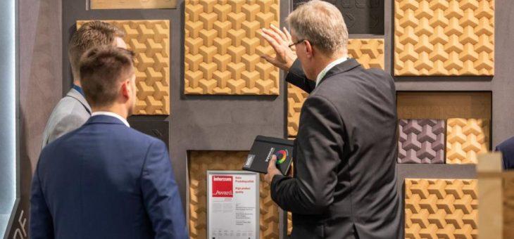 Sonae Arauco gewinnt mit 3DF den interzum award 2019