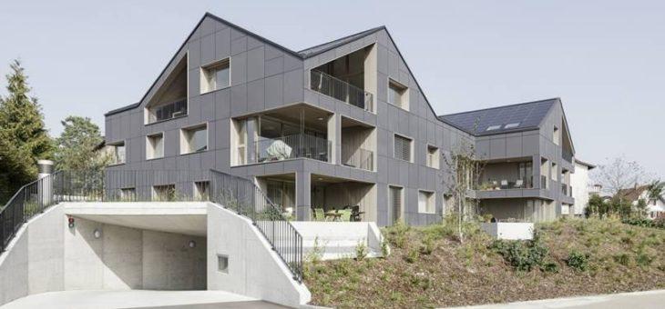 Einzigartiges energieautarkes Mehrfamilienhaus in der Schweiz