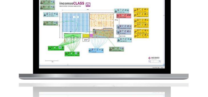 Warehouse Design & Simulation mit inconsoCLASS