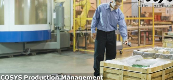 Effiziente Vermeidung von Rüstzeiten und Produktionsunterbrechungen mit COSYS Software