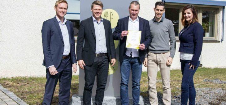 """Sesotec zeichnet Stol inspection systems mit """"Regional Dealer Award 2018"""" aus"""