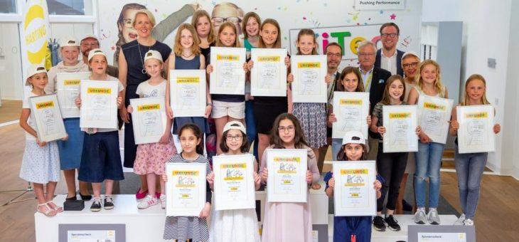 Kinder zünden für KiTec ein Ideen-Feuerwerk
