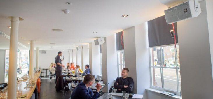 High-End Asia Restaurant IZAKAYA in Amsterdam setzt auf flexiblen Einsatz von RCF Lautsprechern