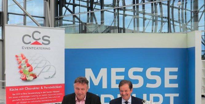 Die Messe Erfurt GmbH schließt mit CCS Catering, Consulting und Service GmbH, Erfurt, neuen Vertrag bis 2024