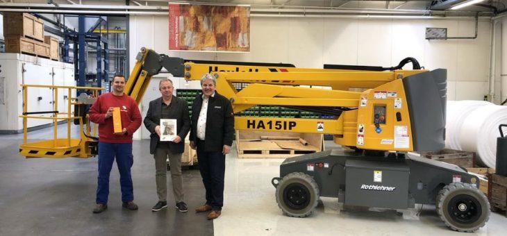 3.000ste Haulotte Maschine in der Rothlehner Gruppe verkauft und Zusammenarbeit vertieft