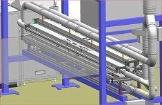 Weltweit einzigartig – 3,8 m breite WEKO-Pudersysteme an Folien-Extrusionsanlagen installiert