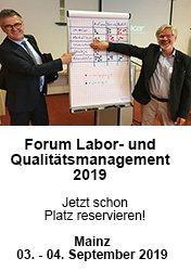 Forum Labor- und Qualitätsmanagement 2019: Arbeitsrecht und Unternehmensführung in Zeiten von Arbeit 4.0