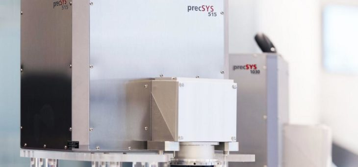 Grüner Laser erlaubt feinere Strukturen