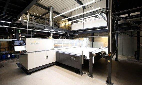 Neuer Teppichdrucker setzt Qualitätsmaßstäbe und schont die Umwelt