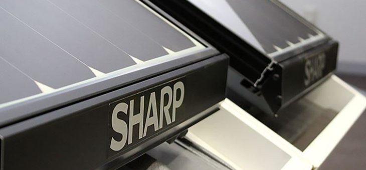 SHARP ueberzeugt mit neuen Solarmodulen