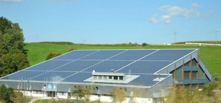 Die Sonne für den Klimaschutz arbeiten lassen