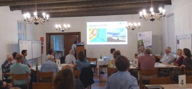 Gemeinsame Maßnahmenentwicklung zur Starkregenvorsorge in der Blumenthaler Aue
