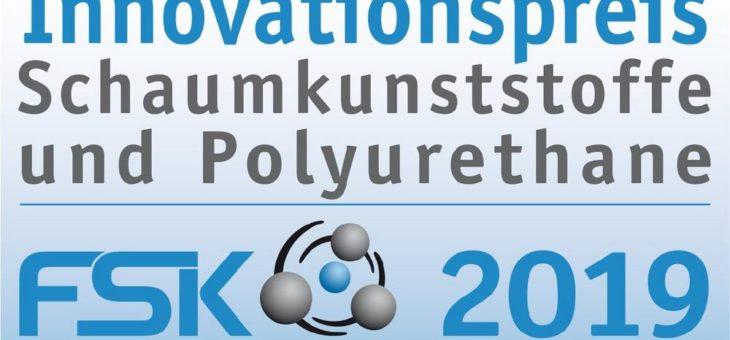 FSK ruft zur Bewerbung für den Innovationspreis Schaumstoffe und Polyurethane 2019 auf