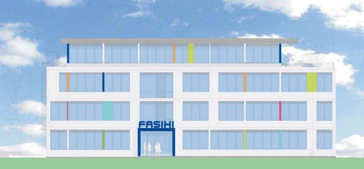 Neues Firmengebäude für Fasihi
