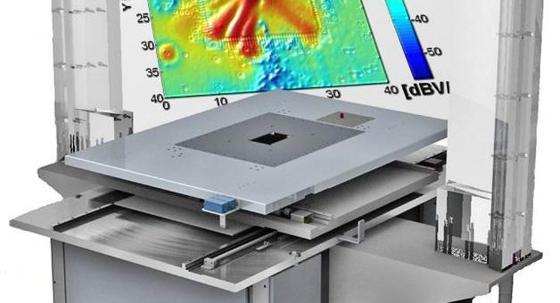 Nahfeldmessungen mit dem NFS3000 zur elektromagnetischen Charakterisierung von Bauteilen und Systemen