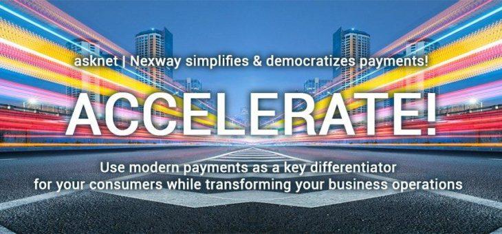 Asknet   Nexway launcht Accelerate! für die optimale Nutzung von Marketplace Economy und Geschäftsmodellen der nächsten Generation