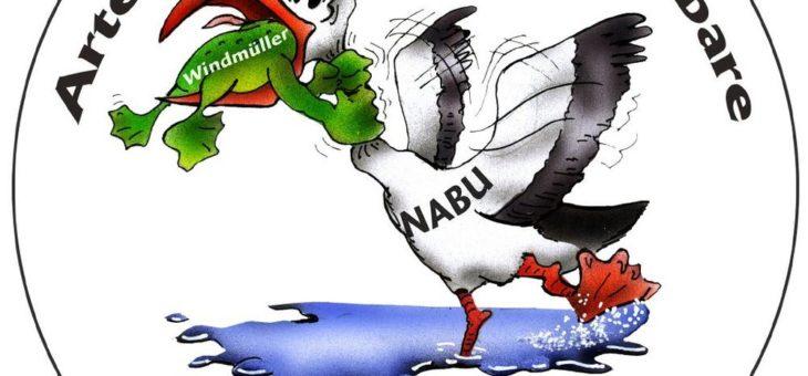 Windkraft-Vertreter protestieren gegen den NABU