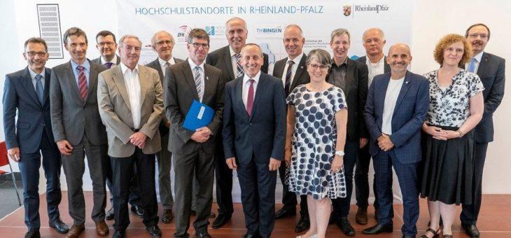 Zielvereinbarung für Forschungsinitiative unterzeichnet