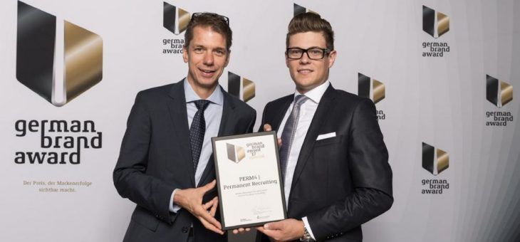 PERM4 | Permanent Recruiting beim German Brand Award ausgezeichnet