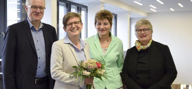 Dr. Britta Lüder neue Konrektorin für Forschung und Transfer