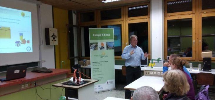 Vorträge Photovoltaik, Speicher, Wärmepumpe und Elektromobilität – Willi zu Gast