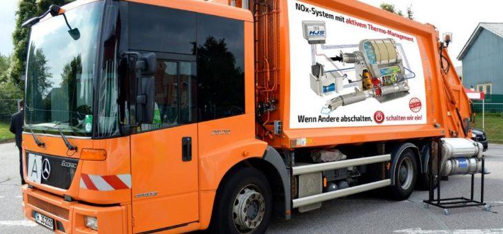 HJS AdBlue-Nachrüstungstechnik für Kommunalfahrzeuge erhält Allgemeine Betriebserlaubnis