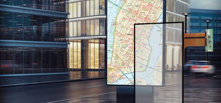 DATA MODUL bringt Touch Sensoren richtig groß raus