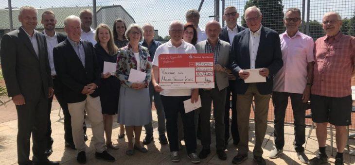 29.000 Euro für sieben Vereine im Main-Taunus-Kreis