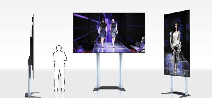 ScreenLifter MOBILE LED 130 jetzt für OPTOMA 130″ FHDQ130 QUAD LED-Display erhältlich