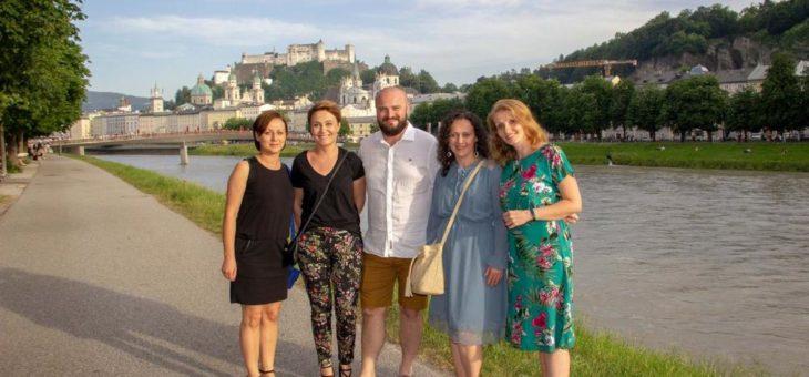 patient2fan-Gewinner entdecken Salzburg