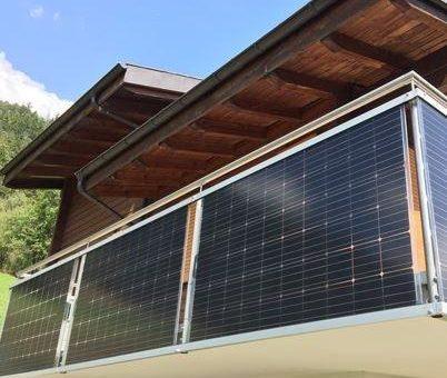 eigenen Strom erzeugen – BalkonSolar spart rund 700 g CO2 pro Kilowattstunde