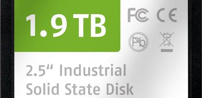 SATA-6-Gb/s-SSD für Industrie- und NetCom-Anwendungen