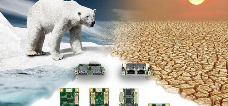 Mini PCie Karten mit erweitertem Temperaturbereich
