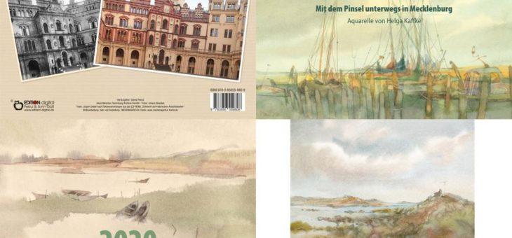 Vom doppelten Schwerin bis zu Kaffke-ART – Drei Kalender für 2020 bei EDITION digital erschienen