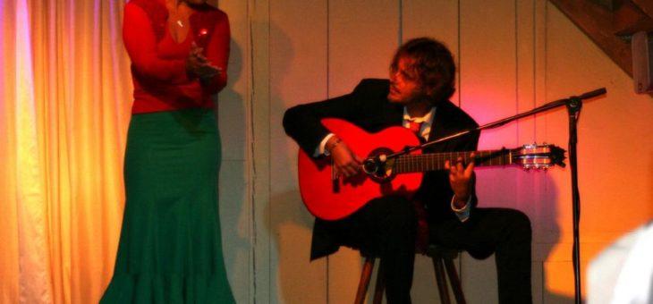 3. August ab 19 Uhr: Flamenco-Fiesta mit spanischen Snacks und Flamenco-Show