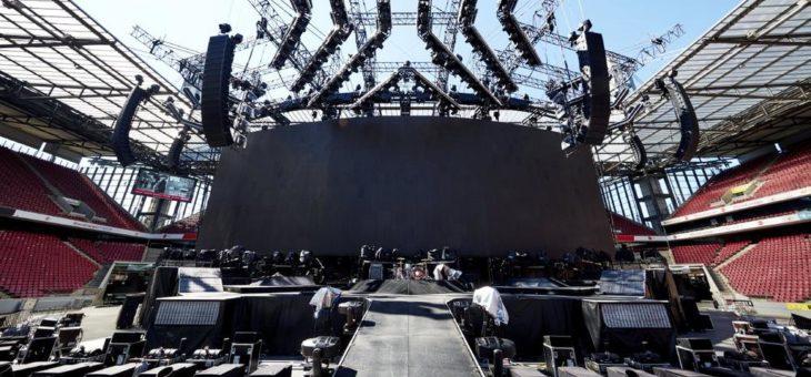 Muse mit Stageco auf spektakulärer Europa-Tour
