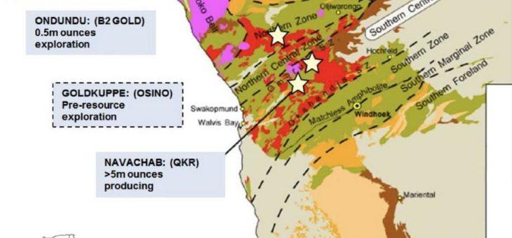 Osino Resources – die nächste bedeutende Goldlagerstätte Namibias?