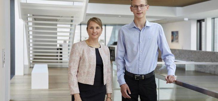 Jonathan Kohlschreiber erhält das WITTENSTEIN-Stipendium 2019