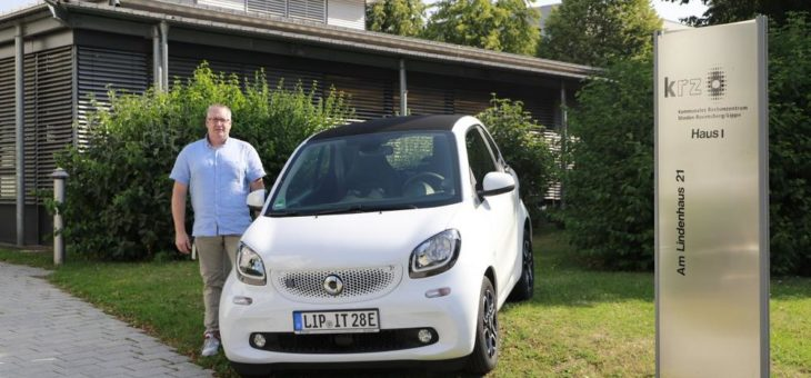 Kurze Wege umweltschonend bewältigen krz investiert in Elektromobilität