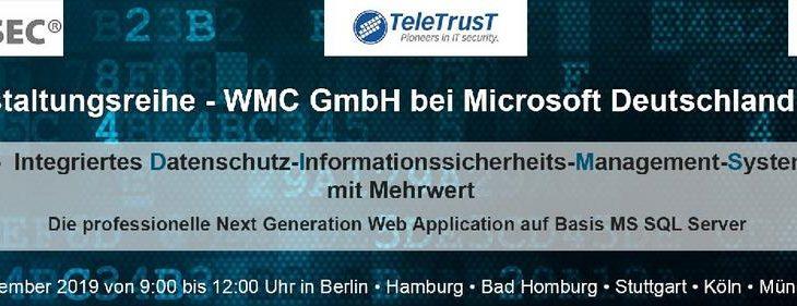 """Veranstaltungsreihe – """"Informationssicherheit und Datenschutz"""""""