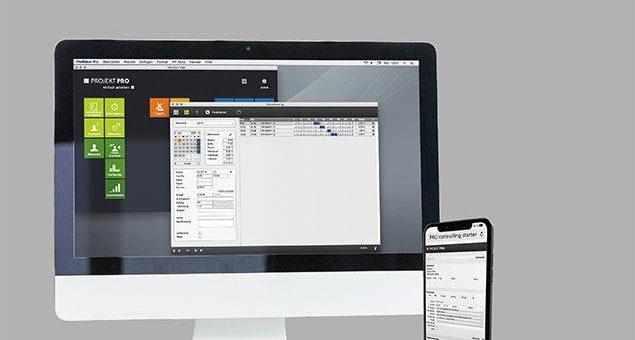 Architektensoftware von PROJEKT PRO