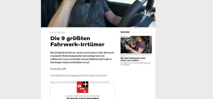 Motor Presse Stuttgart startet digitales Bezahlmodell ams+