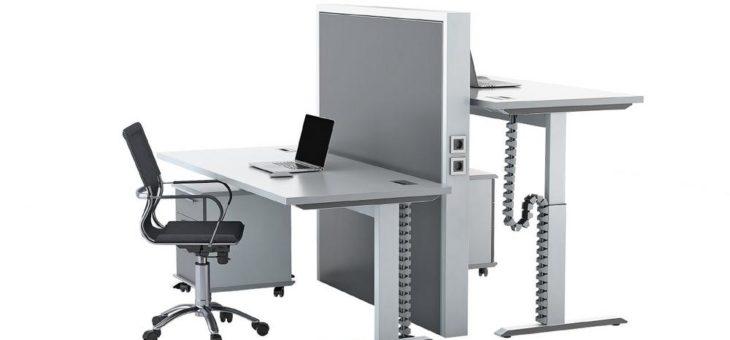 TSUBAKI KABELSCHLEPP ergänzt PROTUM Office-Baukasten