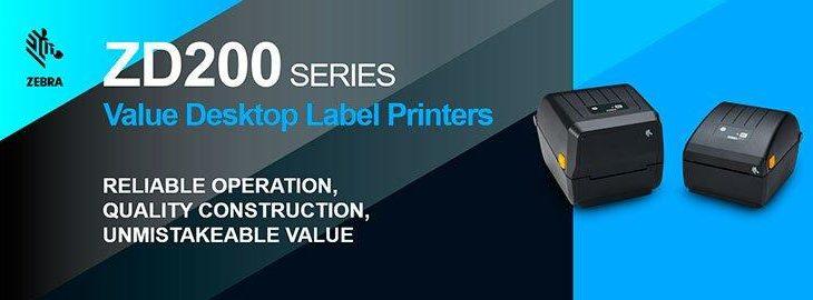 Zebra ZD200 – Desktop Etikettendrucker